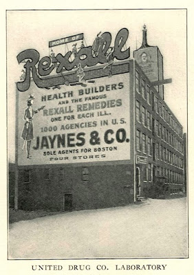 1905 Rexall Remedies Sign Jaynes Capt Rexall- Convention